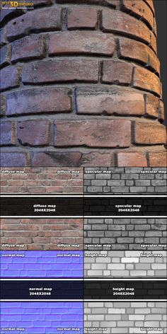 Brick wall 01. A seamless brick wall texture from www.CrazyTextures.com  This and other my textures you can find on the UE Marketplace: https://www.unrealengine.com/marketplace/38-architectural-textures