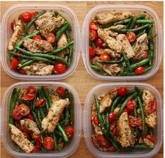 Meal Prep Recipes for the Week - Pesto Chicken and Veggies