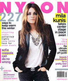 Throwback Thursday: Mila Kunis as our sultry cover star