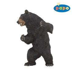 Papo Black Bear at theBIGzoo.com, a toy store featuring 3,000+ stuffed animals.