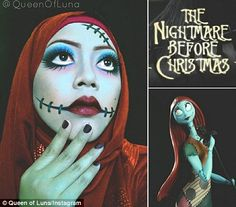 """This Malaysian Artist, Known As """"Queen Of Luna"""" Transforms Herself Into Disney Characters Using Only Her Hijab And Makeup"""