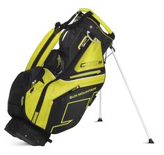 d58c41f90295 Offering 8 pockets these mens golf stand bags by Sun Mountain including a  beverage pocket and two velour-lined valuables pockets