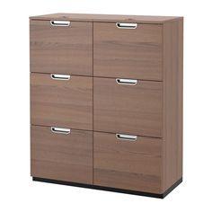 GALANT Combinazione con portadocumenti - grigio - IKEA