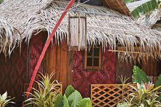 A beach hut on Koh Lanta, Krabi Thailand. Photo by: Mirjam Bleeker Krabi Thailand, Glamping, Campers, Chill, Traveling, Island, House Styles, Beach, Places
