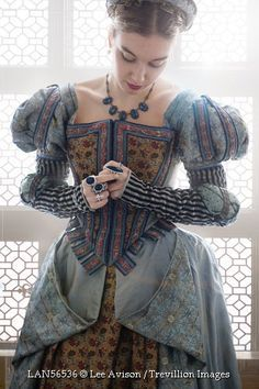 © Lee Avison / Trevillion Images - tudor-medieval-woman-by-window this is gorgeous it's all in the details