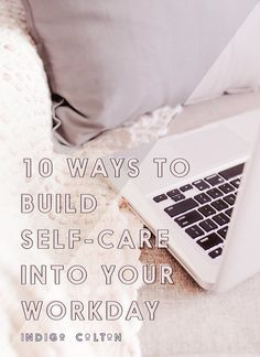 It's been all the rage for the past few years - self-care. But how do you  really implement it as a creative online business owner? I wanted to share  ten things that have worked for me, especially as I recover from last  year's burnout!  DON'T START WORK RIGHT AWAY  When we keep our phones r