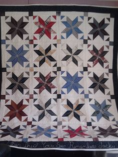 """""""I used Missouri Star Quilt Company's Tutorial """"Big Star Quilt"""" with 5"""" squares instead of 10"""". Thanks to the Missouri Star Quilt Company's Tutorials for great lessons on making quilts."""" -- Marti Byrne"""