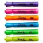 Sharpie Tank Style Highlighters Assorted Fluorescent Chisel Tip Pens