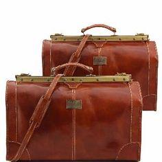 1999d126f5 Promo Ensemble de Voyage Cuir Vintage Miel -Tuscany Leather- Mens Travel,  Travel Set