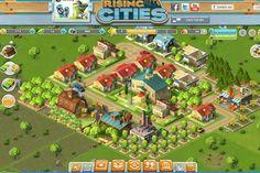 Rising Cities - Baumenü