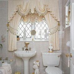 beautiful window treatment by YTG
