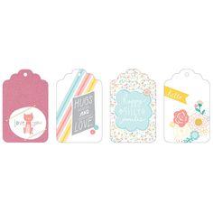 תוצאת תמונה עבור American Crafts My Girl - Layered Tags