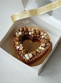 Cookie cream tart Cookie cake