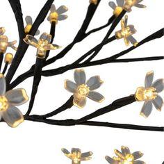 Blossom Trees, Blossom Flower, Traditional Light Bulbs, Japanese Bedroom, Sakura Cherry Blossom, Black Tree, Artificial Tree, White Led Lights, White Lead