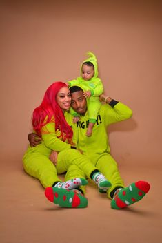 Looks Like Funny Mike, Jaliyah And Londyn In The Christmas Spirit ♥️🎋🎉🎁 Cute Family, Family First, Family Goals, Family Photo Outfits, Couple Outfits, Swag Outfits, Family Photos, Black Couples Goals, Cute Couples