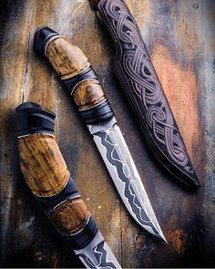 """Páči sa mi to: 20, komentáre: 1 – Jacks0n10 (@blade_stalker) na Instagrame: """"Stunning work by @andreanderssoncustomknives #knifeart #knifedesign #knives #knifeaddict…"""""""