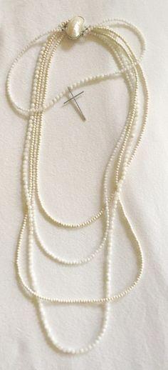 St. Bastile Crystal Cross Necklace | Saint Bohemian