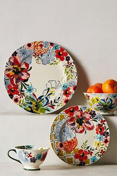 Sissinghurst Castle Dinner Plate - anthropologie.eu