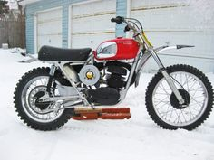 1971 Husqvarna 400 Cross