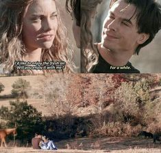 Damon giving Rose a dream to take away her pain