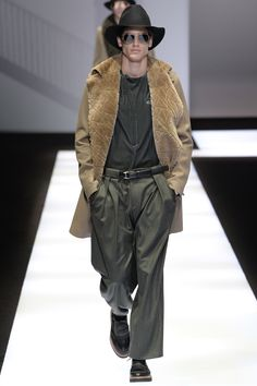 Emporio Armani: menswear fall/winter 2017-2018