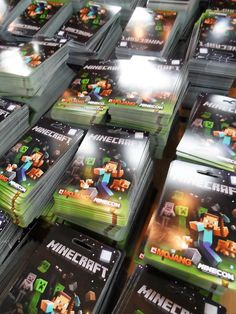 MINECON 2012: The Minecraft Cards