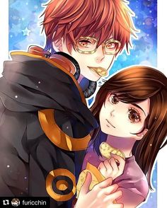 The long awaited commission ❤️ thank you so much for your time | I love it @furicchin ❤❤#707xJaysama #mysticmessenger #commission