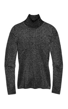 Shop Lurex Wrapped Rib Ribbed Turtleneck With Pinched Darts. This glittered Alexander Wang sweater features pin tuck detail at the inside elbows and ribbed knitting at the turtle neck. Ribbed Turtleneck, Darts, Alexander Wang, Men Sweater, Turtle Neck, Space, Winter, Sweaters, Shopping