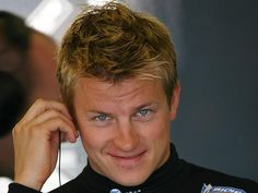 Räikkönen makes me wordless, even in this scene from England in 2006