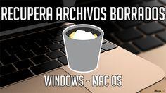 Recuperar archivos eliminados de tu Mac