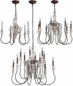 Craftmade Highgate Chandeliers Transitional Chandeliers, Transitional Lighting, Bronze Chandelier, 5 Light Chandelier, Pineapple Chandelier, Painted Driftwood, Amber Crystal, Iron Chandeliers, Glass Material