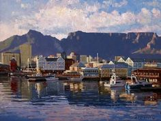 The Cape Gallery official website, dealers in South African Paintings, Sculptures and Ceramics. The Cape Gallery is based on 60 Church Street, is set in the heart of the old city of Cape Town, South Africa African Paintings, South African Artists, New York Skyline, Image Search, Sculptures, Old Things, Gallery, Boats, Landscapes