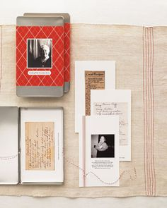 Keep treasured dishes in the family by scanning and printing original recipes from everyone's most beloved cook.    How to Make the Recipe Box
