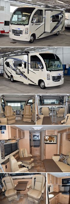 2015 Thor Motor Coach Vegas – 2015 Thor Motor Coach VEGAS Class A Gas The Vegas is a new recreational utility vehicle or. Kombi Motorhome, Rv Campers, Small Motorhomes, Luxury Motorhomes, Lightweight Trailers, Light Trailer, Luxury Rv, Rv Trailers, Vw T