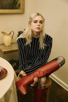 Elle Fanning, Nylon Magazine
