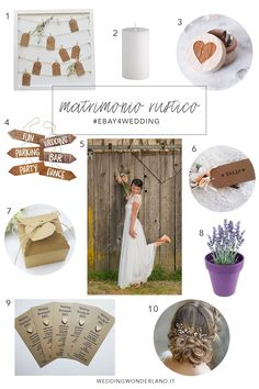 I must have per un matrimonio rustico
