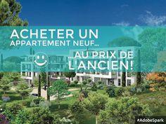 Dans notre programme immobilier La Chapelle, nous proposons des #appartements neufs du T1 au T4 à partir de 77 780€ :) Pour plus d'infos, contactez le service commercial au 04.91.92.00.15