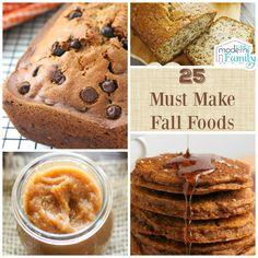 25 Must Make Fall Treats