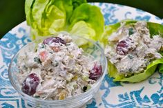 Dairy free chicken salad made with coconut milk.  Great for paleo - real food - low carb   diets.