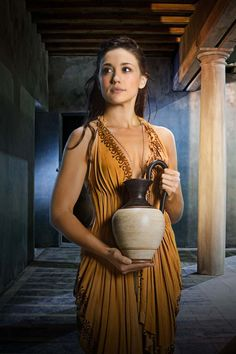 """""""Spartacus"""": Series Finale and Final Season Stills photos, Still of Jenna Lind in Spartacus: War of the Damned Spartacus Women, Spartacus Cast, Spartacus Tv Series, Spartacus Blood And Sand, Spartacus Characters, Empire Romain, Movie Costumes, Roman Costumes, Hot Actresses"""