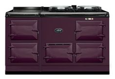 aga stove. this will go well with the $22,000 sofa I am in love with