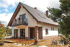Gotowe projekty domów - gwarancja najniższej ceny - EXTRADOM Home Fashion, House Plans, Cabin, Mansions, House Styles, Interior, Home Decor, Blueprints For Homes, Mansion Houses