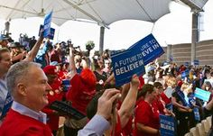 A lower court judge ruled today to dismiss a case filed by a group of Bernie Sanders supporters against the state Democratic party, saying that it wasn't the court's place to ...