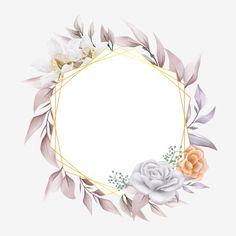 Framed Wallpaper, Flower Background Wallpaper, Flower Backgrounds, Wedding Frames, Wedding Cards, Clipart, Flower Graphic Design, Pink Design, Wedding Borders