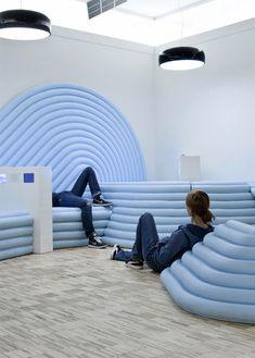 Mathieu Lehanneur's design for a children's workshop at the Centre Pompidou
