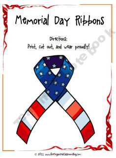 TheOCBlog Shop - memorial-day-activity-pack | Teachers Notebook