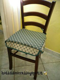hobby di nicca cuscino per sedie tutorial