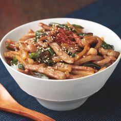 Tasty Japan pork potato bowl