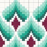 Turquoise - Stitch Fiddle