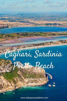 Cagliari, Sardinia, Italy. Poetto Beach & Parco Naturale Molentargius-Saline  #Cagliari #Sardinia Sardinia Italy, Places To Travel, Travel Guide, Beach, The Beach, Travel Destinations, Holiday Destinations